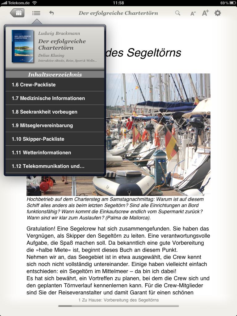 NEU: eBook: Der erfolgreiche Chartertörn